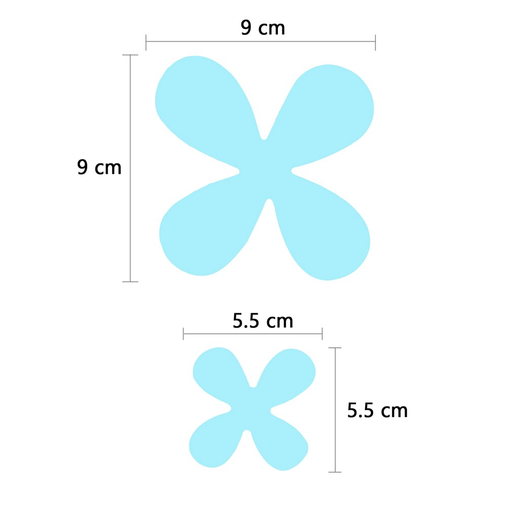 3D FLOWERS IN TURQUOISE