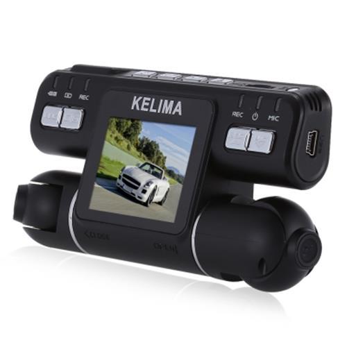 KELIMA - 020 270 DEGREE ROTATION DUAL CAMERAS 2.0 INCH CAR DVR 1080P