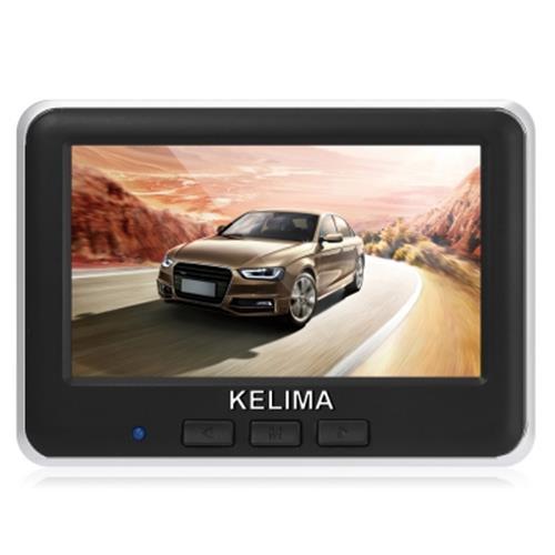 KELIMA 006 WIRELESS CAR REAR VIEW CAMERA + WIRELESS 4.3 INCH COLOR LC