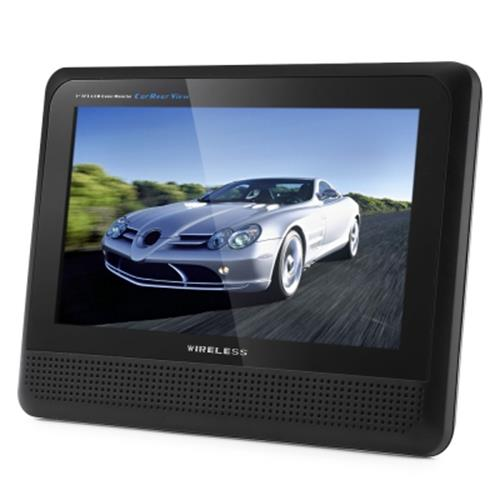 CR008 WIRELESS CAR REARVIEW CAMERA WITH 15 IR LEDS + 7 INCH SCREEN