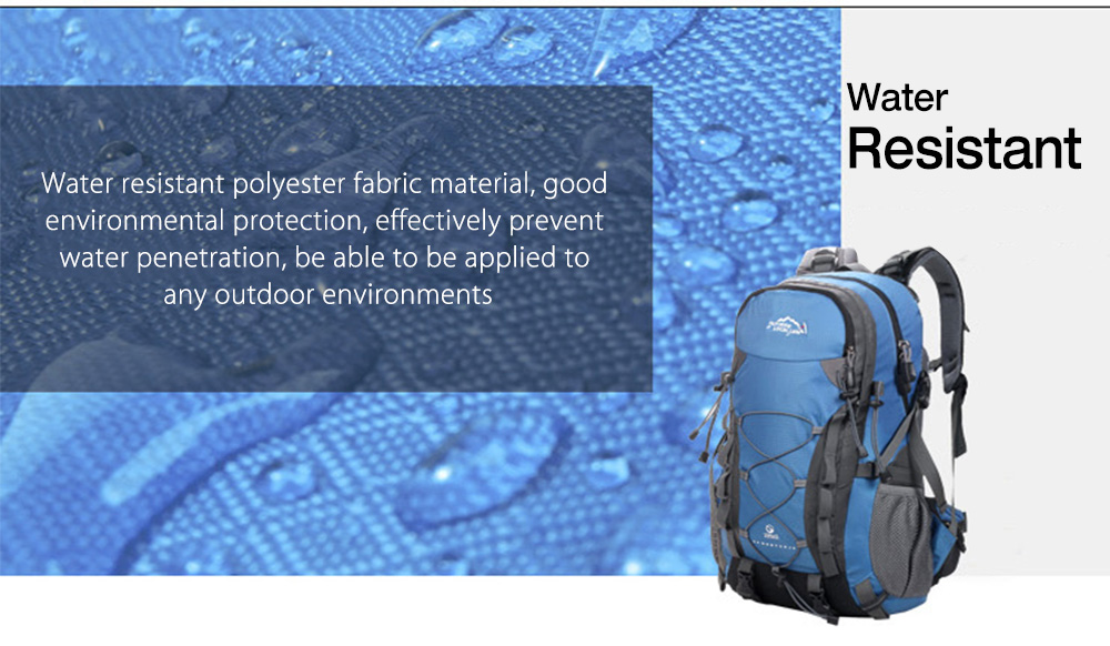 LOCAL LION 443 40L Water Resistant Molle Climbing Hiking Backpack