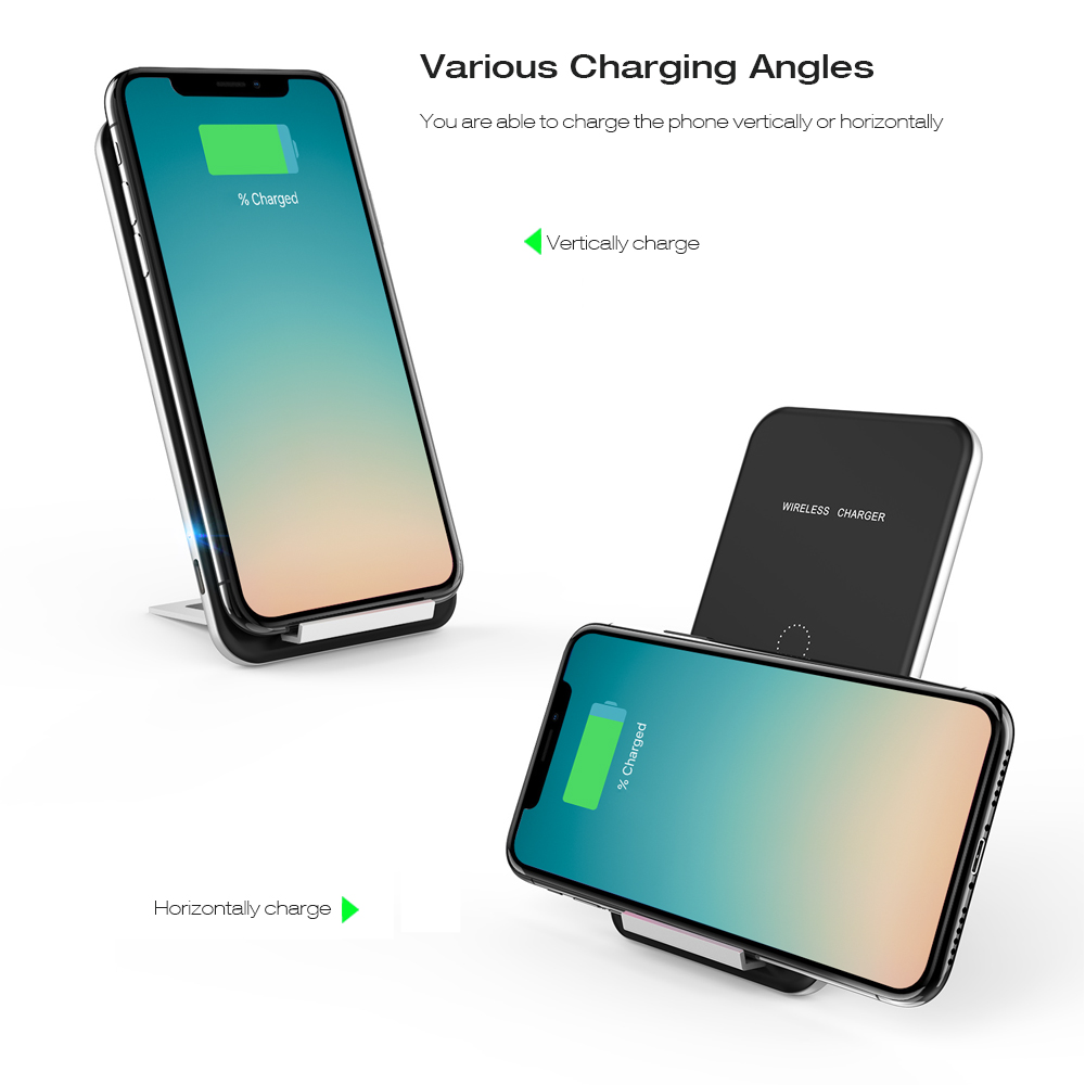 INCHOR C2 Multi-functional Wireless Charging Pad Magnetic with Desktop Holder