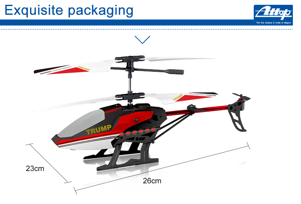 Attop T1 3.5CH RC Helicopter