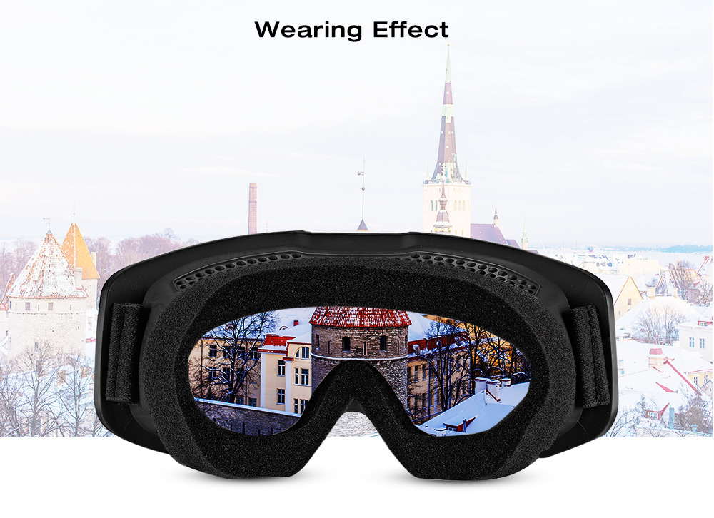BOLLFO BF656 Motorcycle Mask Goggles Detachable Windproof for Motocross Outdoor Riding Skiing