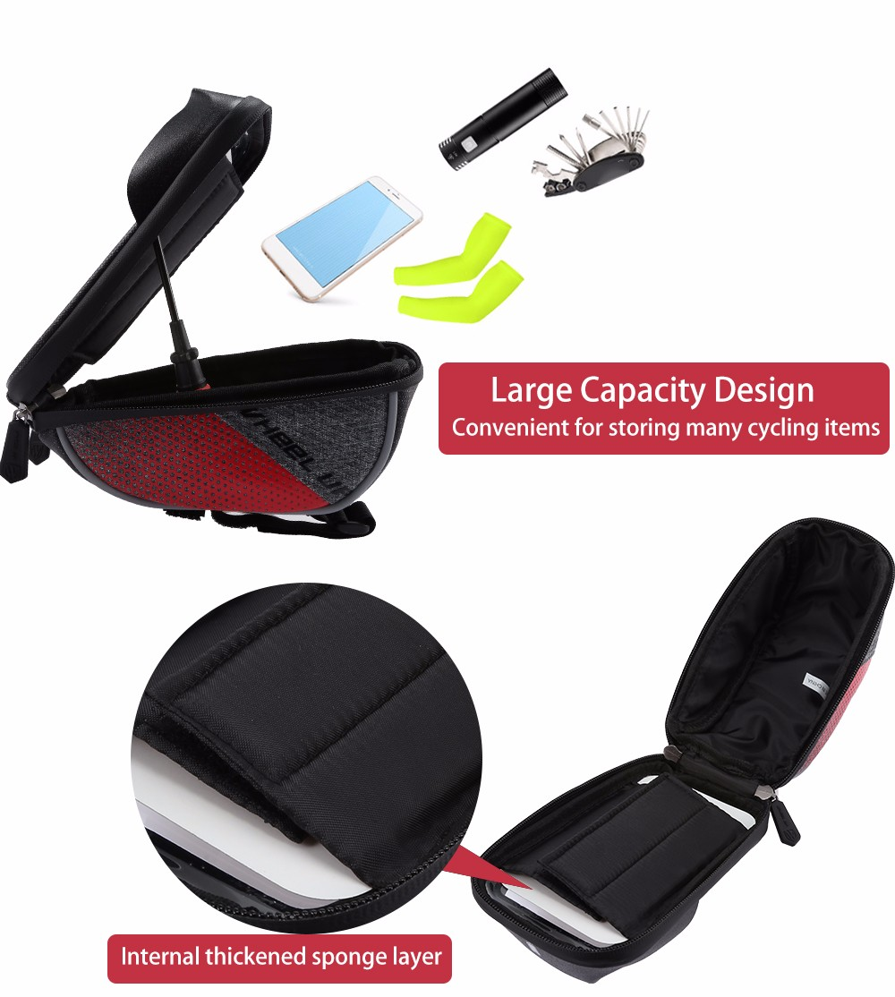 WHEELUP Touch Screen Front Top Tube Bicycle Bag Bike Cycling Phone Pouch