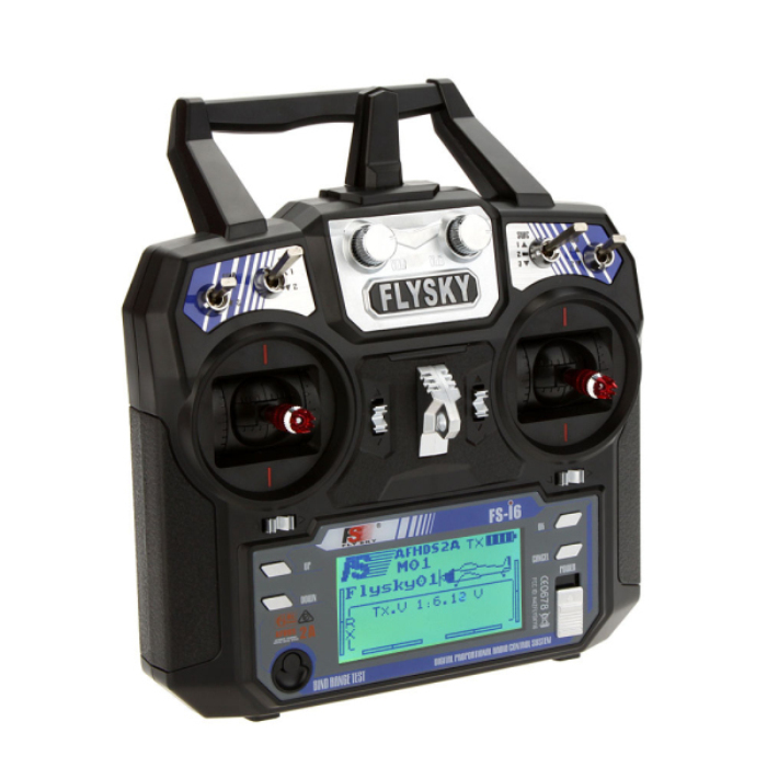 Flysky FS - I6 2.4GHz 6CH Transmitter with LCD Display for RC Aircraft Models