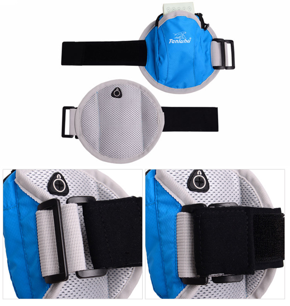 Tanluhu FK357 Outdoor Sport Cycling Running Cell Phone Arm Bag Wrist Pouch