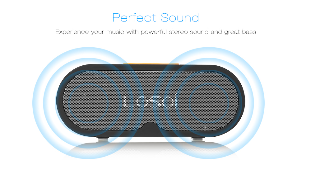Lesoi Bluetooth Speaker Portable Wireless Player