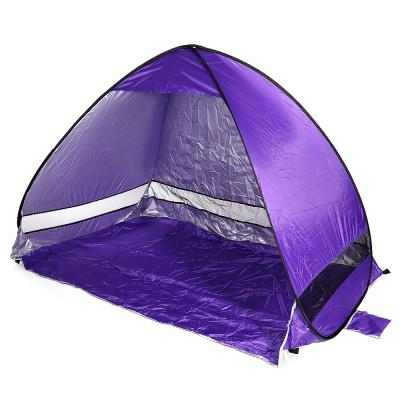 AUTOMATIC CAMPING BEACH TENT (BLUE)